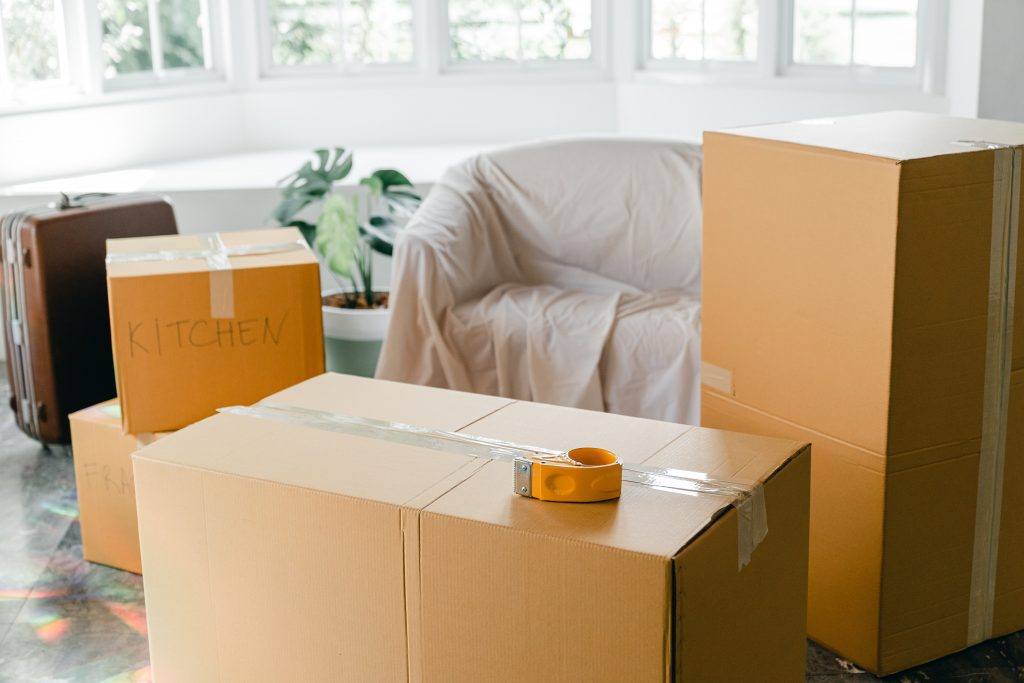 Moving house and packing up all your belongings can be stressful.